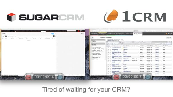 1CRM-and-SugarCRM-Performance-Benchmark
