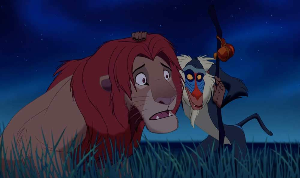 10 Inspirational Movie Quotes to Get You Through the Work Day Lion King Rafiki